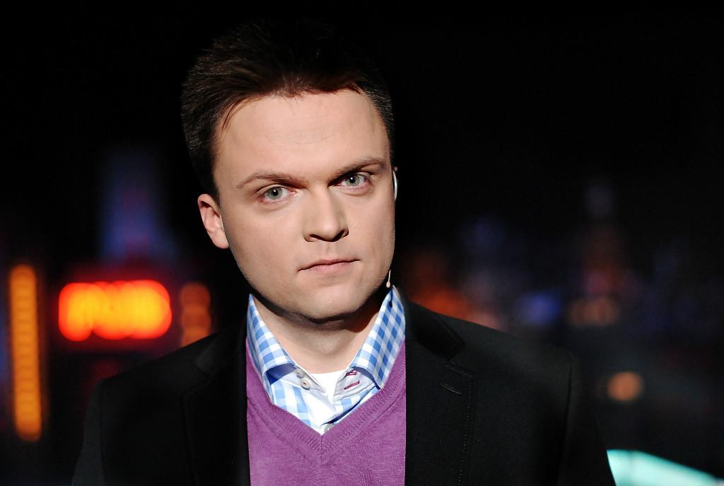 Szymon Hołownia w Muzeum Kultury Kurpiowskiej