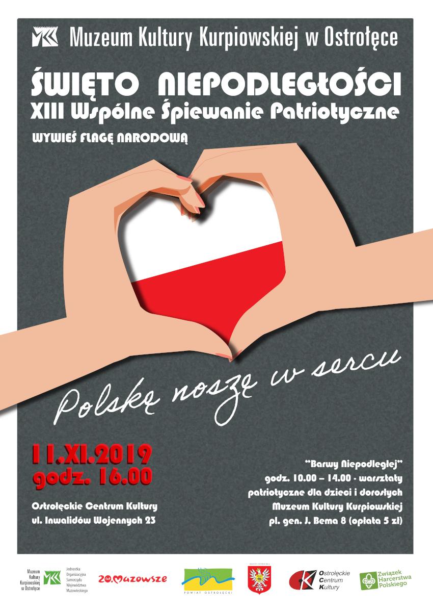 """XIII Wspólne Śpiewanie Patriotyczne """"Polskę noszę w sercu"""""""