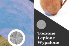 Toczone_Lepione_Wypalone_wystawa_MKK_plakat
