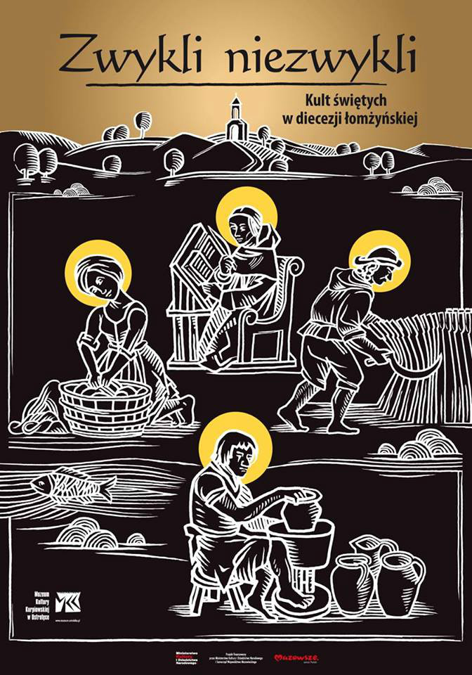 """Wernisaż wystawy """"Zwykli niezwykli. Kult świętych w diecezji łomżyńskiej"""""""