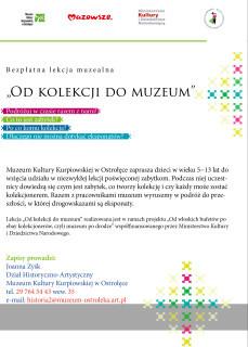 """Lekcja muzealna pt. """"Od kolekcji do muzeum"""""""