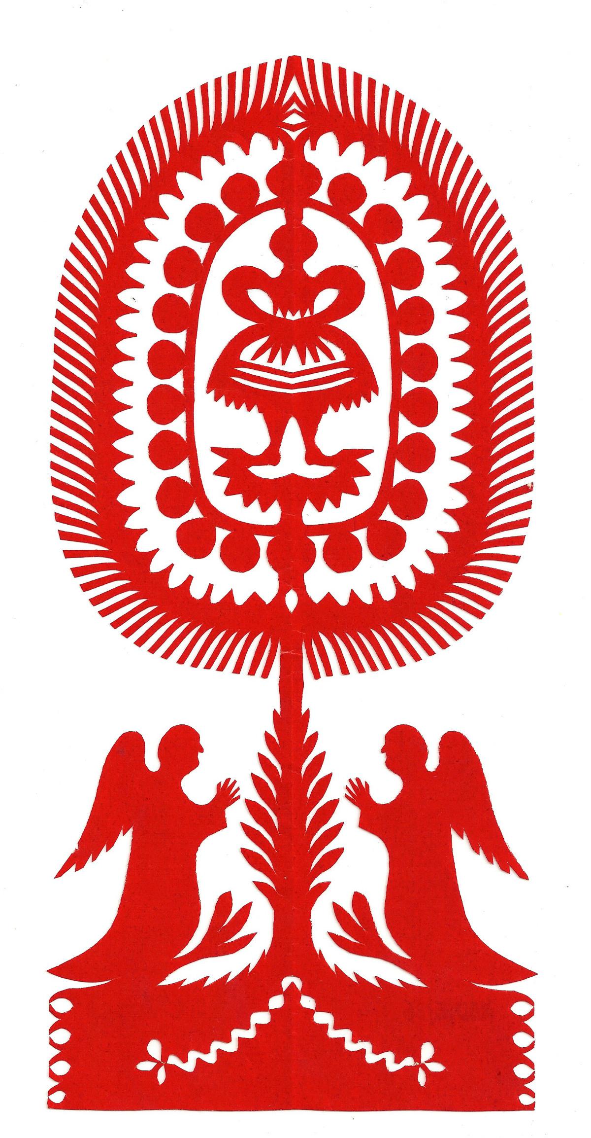 Wycinanka Rozalii Jeziorkowskiej wirtualnym obiektem listopada 2016