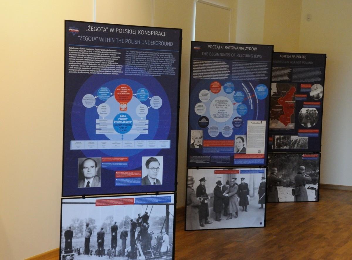 Wystawa o Radzie Pomocy Żydom