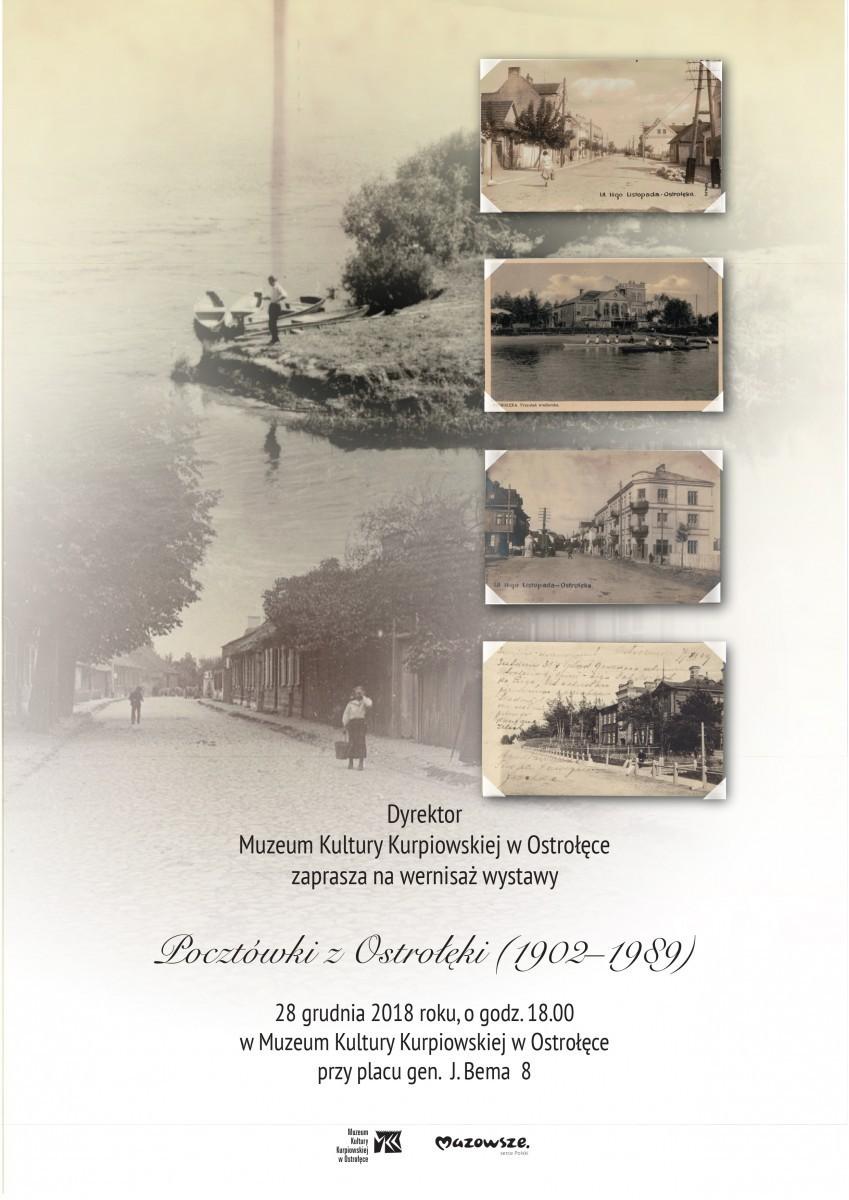 """""""Pocztówki z Ostrołęki (1902-1989)"""""""