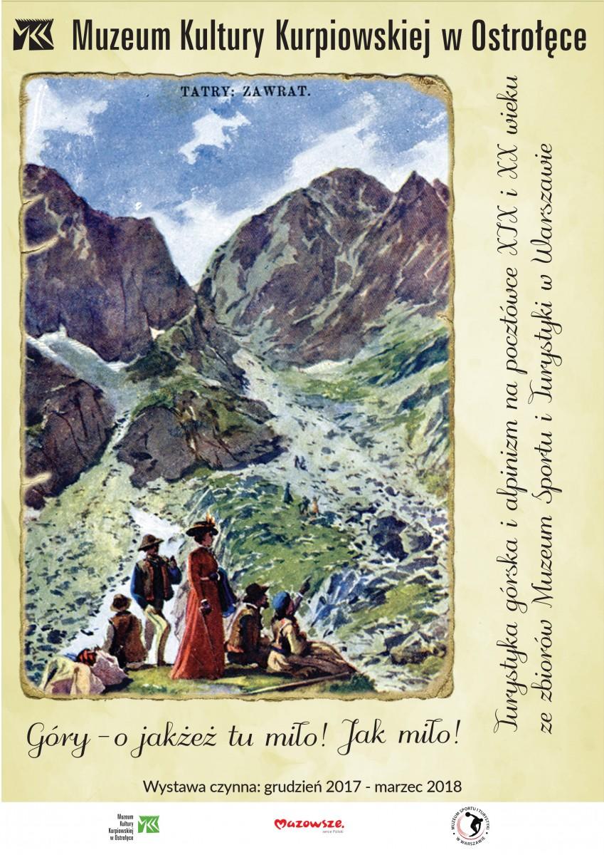 """Wystawa """"Góry – o jakżeż tu miło! Jak miło!"""""""
