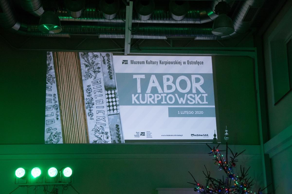 Tabor Kurpiowski w Muzeum Kultury Kurpiowskiej w Ostrołęce