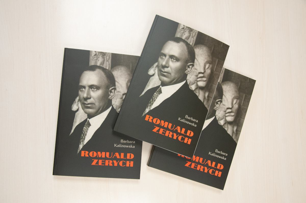 Książka o Romualdzie Zerychu