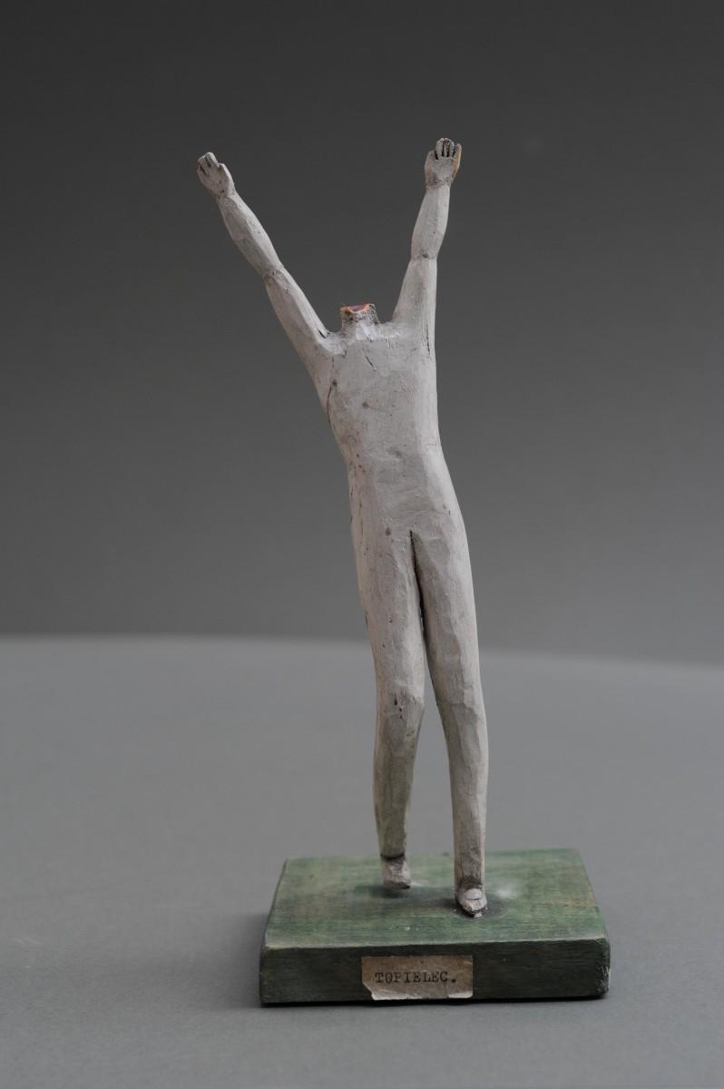 """Rzeźba pt. """"Topielec"""""""