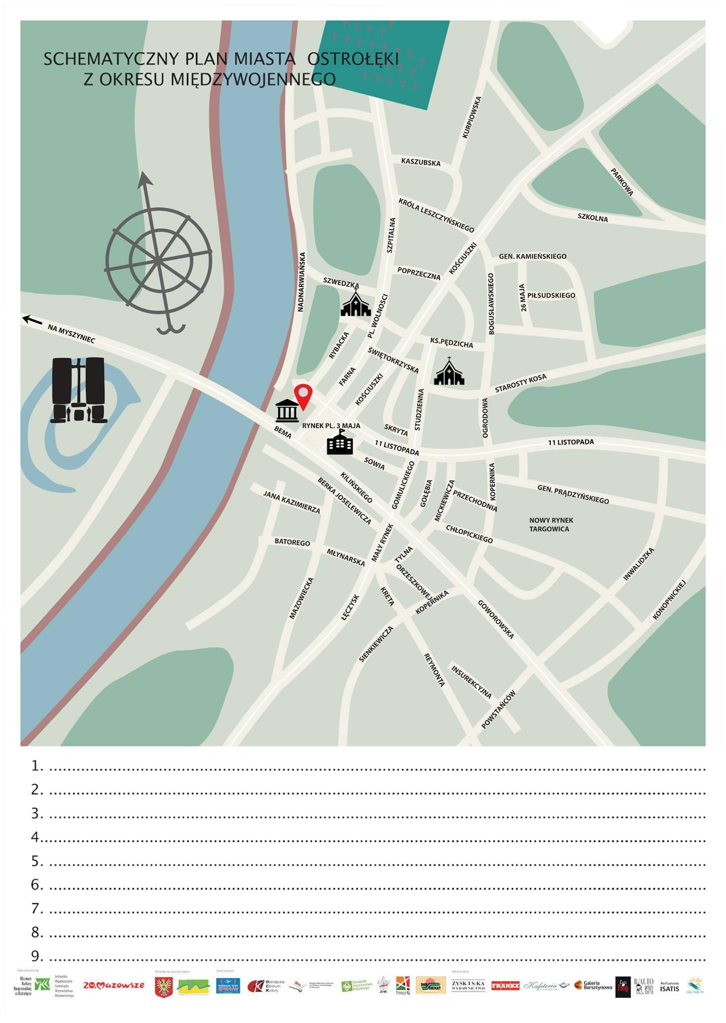 Rozwiązanie zadania z gry miejskiej
