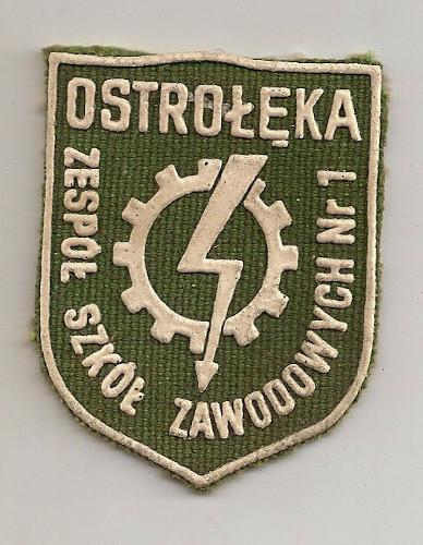 Tarcze Zespołu Szkół Zawodowych nr 1 w Ostrołęce