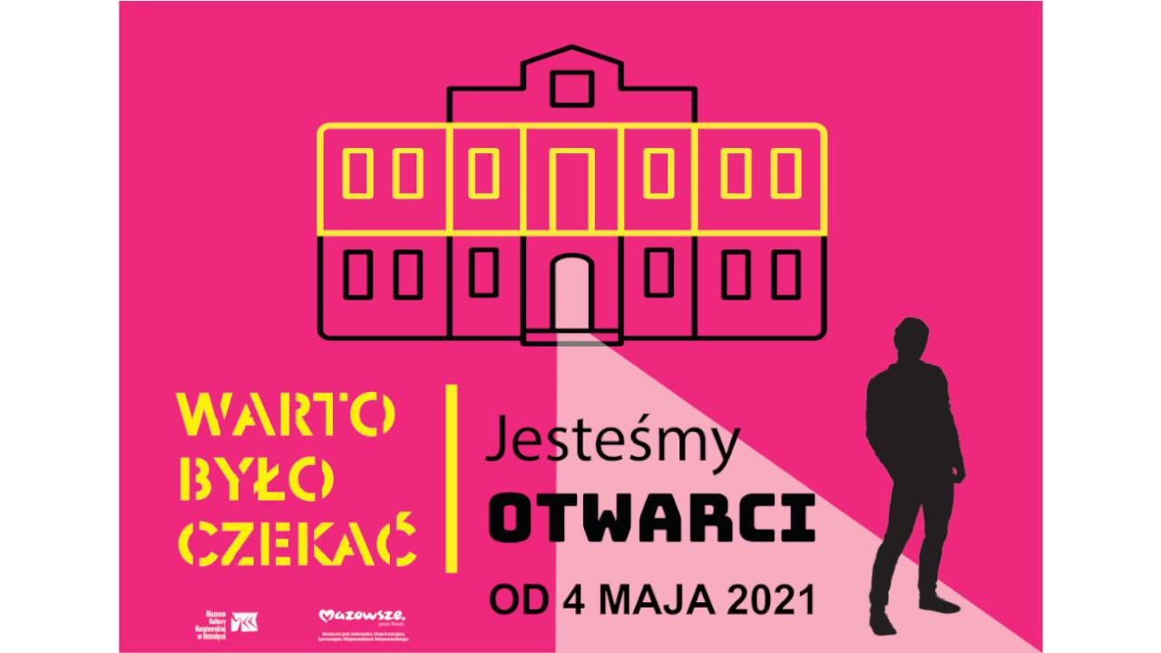 grafika informująca o otwarciu muzeum