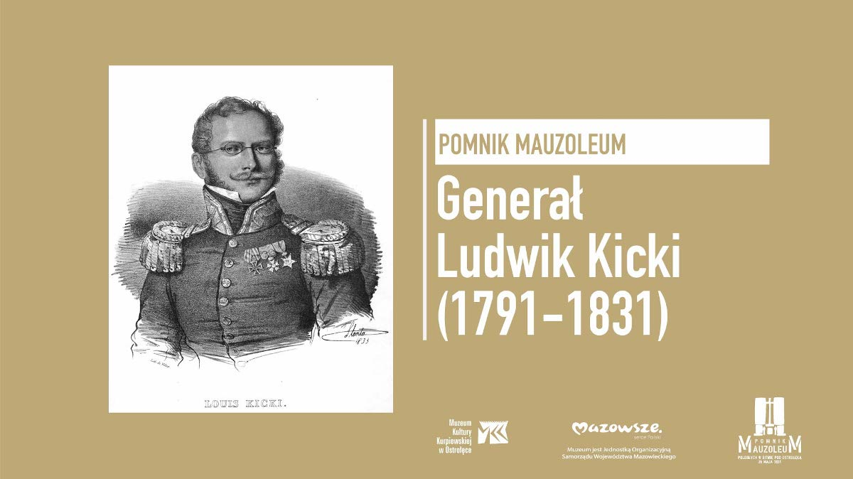 """Wykład """"Generał Ludwik Kicki (1791–1831)"""""""