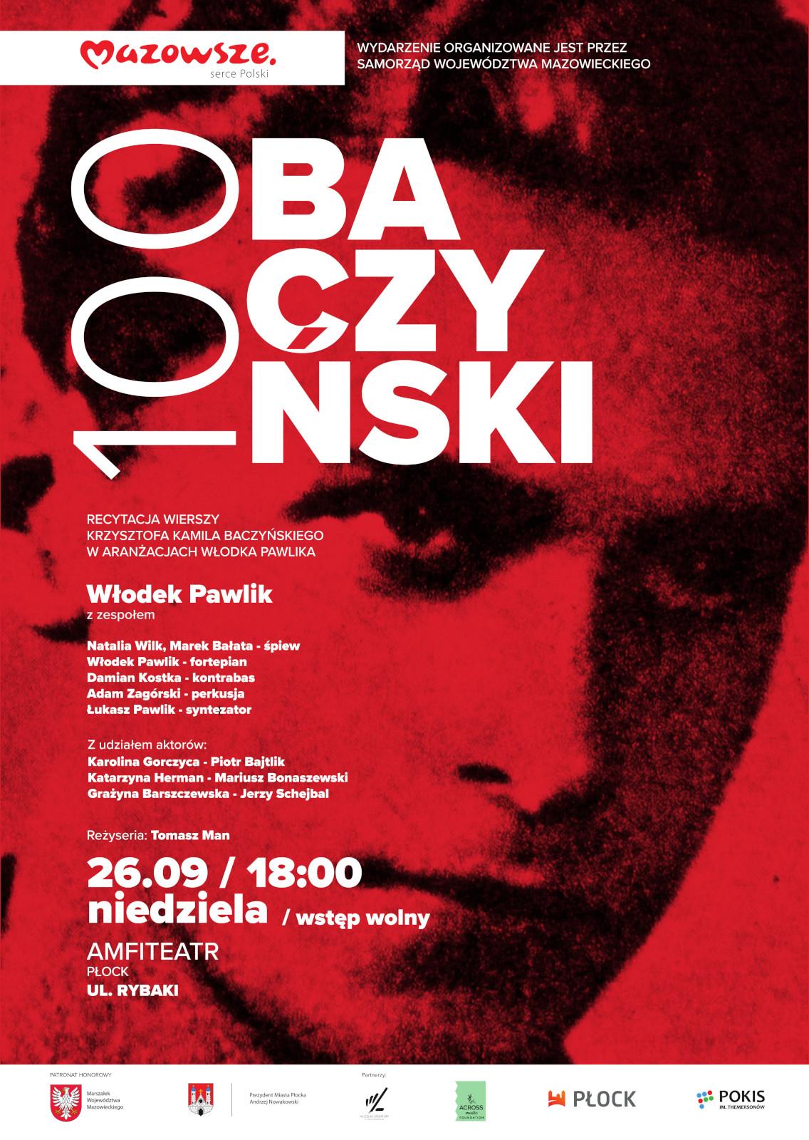 """Kolejna odsłona koncertu """"Baczyński 100"""""""