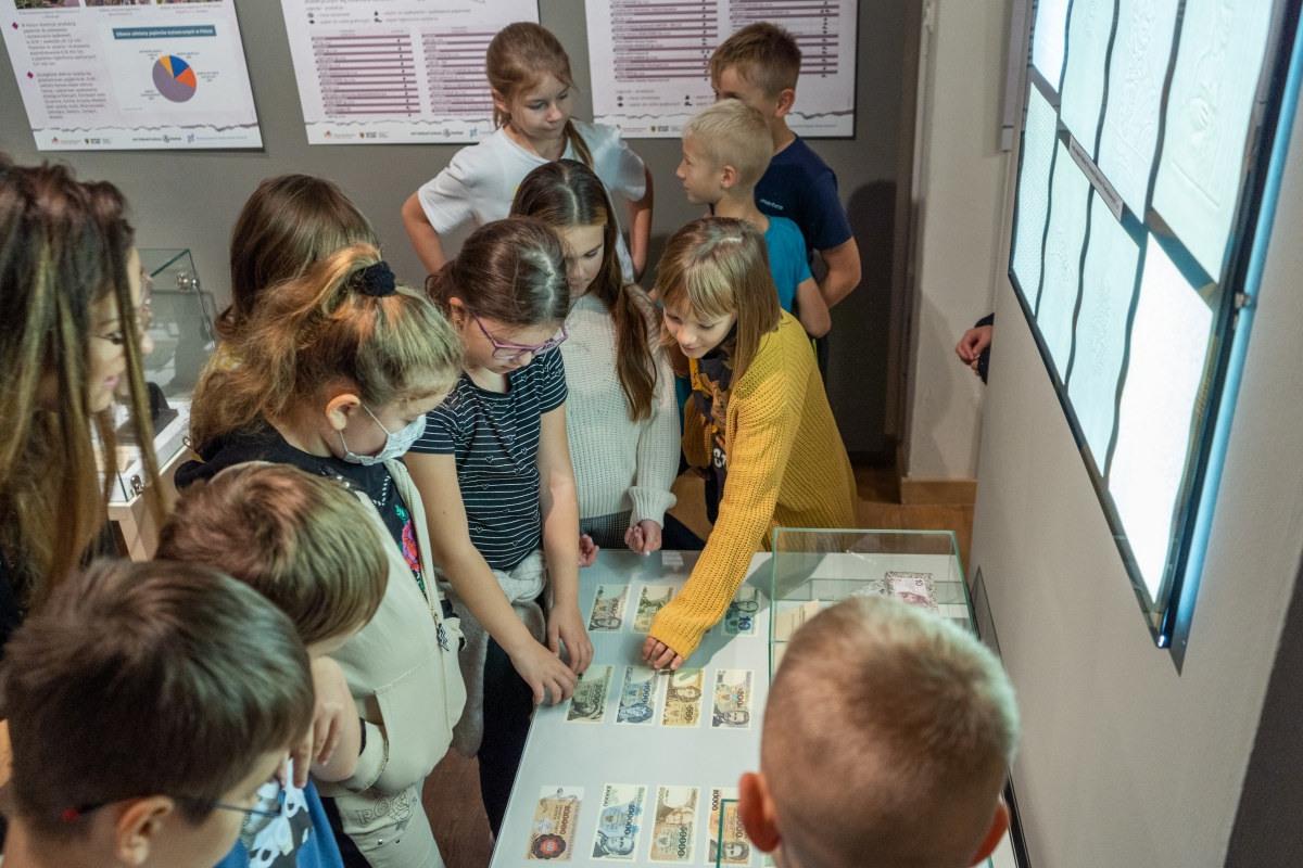 Uczniowie odwiedzili Muzeum